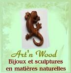 Art`n Wood: créatrice de bijoux et sculptures en matières naturelles