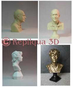 Bustes miniatures personnalisés, portraits sculptés, figurines, bijoux, camée, etc., offrez un cadeau unique!