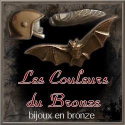 Couleurs du bronze: bijoux en métal - Art`n Wood: bijoux, sculpture, pendentifs,colliers,cadeaux,broches,bracelets,boucles d`oreille, luxe