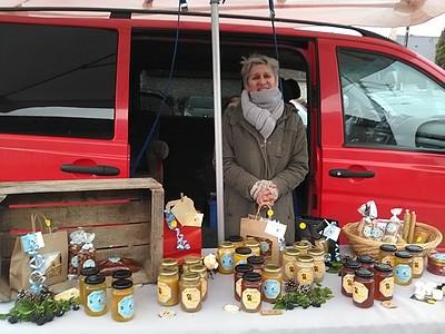 marché de Noël 2019 St Claude miel
