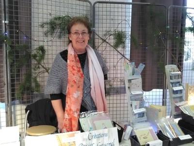 marché de Noël 2019 St Claude papier artisanal