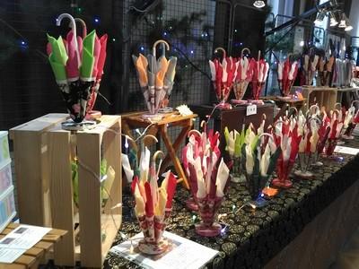 marché de Noël 2019 St Claude parapluies
