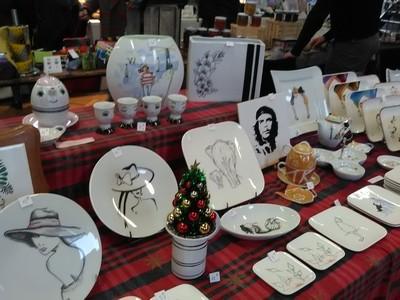 marché de Noël 2019 St Claude porcelaine