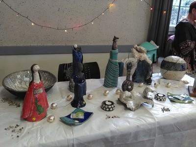 marché de Noël 2019 St Claude raku