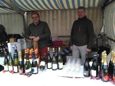 marché de Noël 2019 St Claude vin