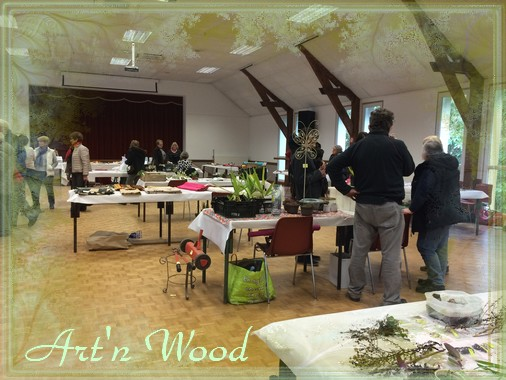 Vide atelier/troc aux plantes à Chouzy -41 - mars 2018